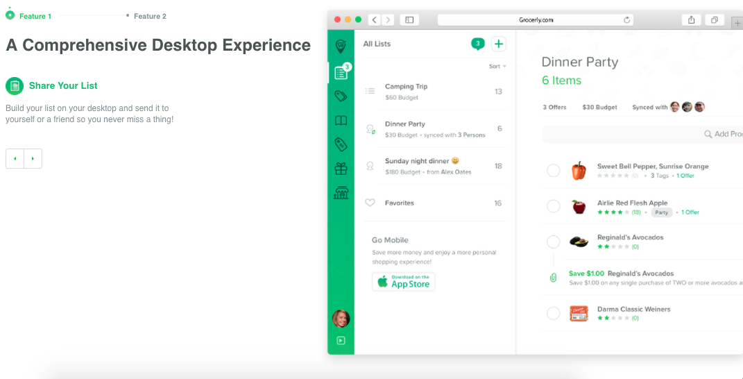 Grocerly Desktop App