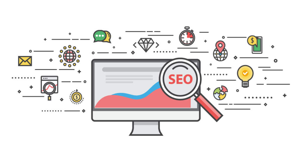 Wordpress SEO Illustration